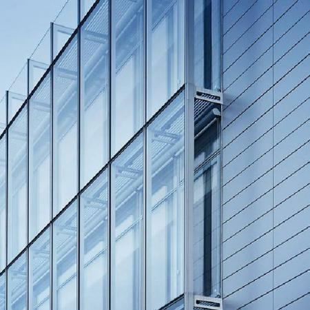 What are the types of curtain walls?