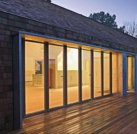 How much do exterior glass walls cost?