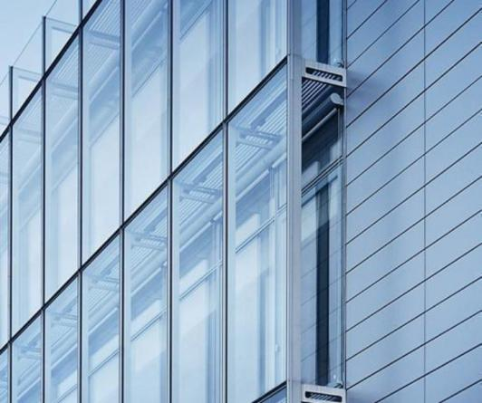 High-quality curtain wall glass system for sale