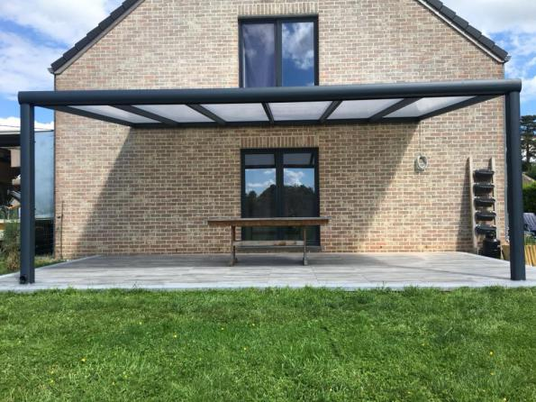 Introduction to aluminium electric louvered roof