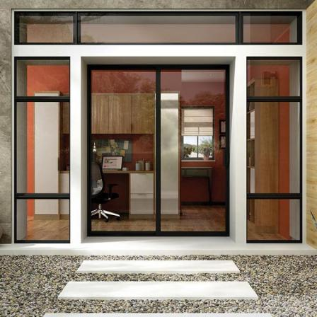 Positive features of thermal break door profile